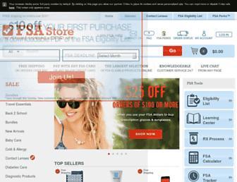 Thumbshot of Fsastore.com