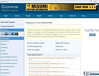 Thumbshot of Codemyne.net