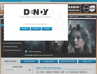 Thumbshot of Dendy.com.au