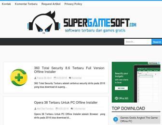 supergamesoft.com screenshot