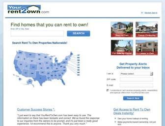 Thumbshot of Yourrent2own.com