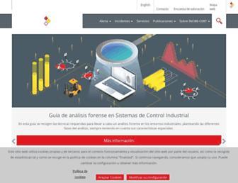 incibe-cert.es screenshot
