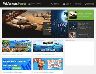 wildtangent.com screenshot