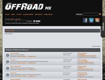 Thumbshot of Offroad.com.mx