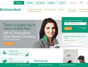 Thumbshot of Citizensbank.com