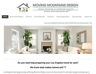 Thumbshot of Movingmountainsdesign.com