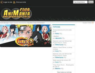 mp3.animaniaclub.com.br screenshot