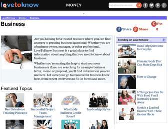 business.lovetoknow.com screenshot