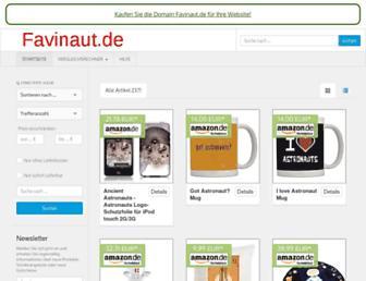 Screenshot for favinaut.de