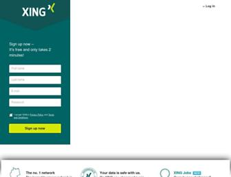 Thumbshot of Xing.com