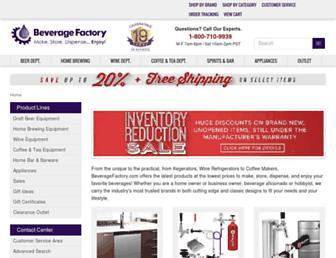 Thumbshot of Beveragefactory.com