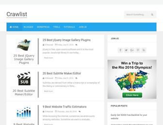 crawlist.net screenshot