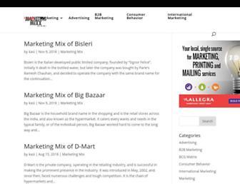 marketingmixx.com screenshot