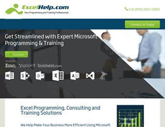 excelhelp.com screenshot