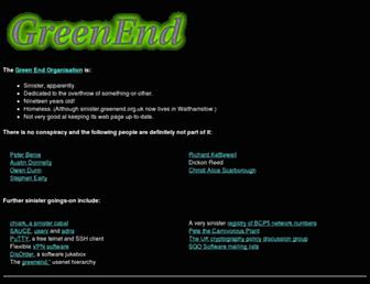 Thumbshot of Greenend.org.uk