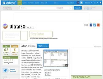 ultraiso.en.softonic.com screenshot