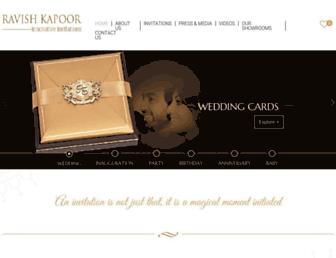 ravishkapoor.com screenshot