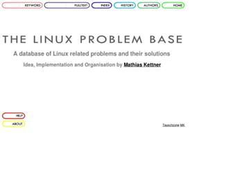 linuxproblem.org screenshot