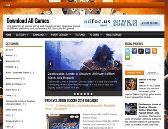 dlallgames.blogspot.com screenshot