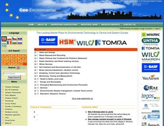 cee-environmental.com screenshot