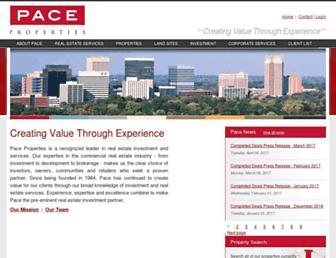 paceproperties.com screenshot