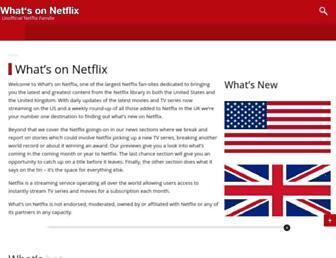 whats-on-netflix.com screenshot