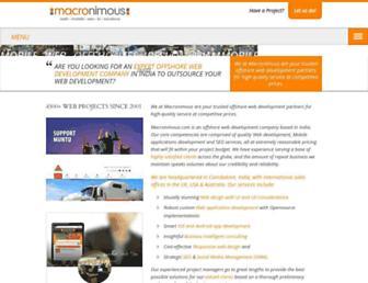 Thumbshot of Macronimous.com