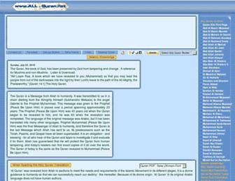 Thumbshot of All-quran.com