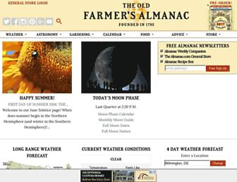 Thumbshot of Almanac.com