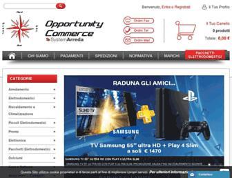 opportunitycommerce.com screenshot