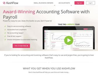 Thumbshot of Kashflow.com