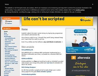coolsoft.altervista.org screenshot