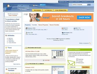 abcdatos.com screenshot