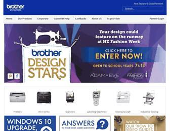 brother.co.nz screenshot