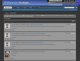 bleedinedge.com screenshot