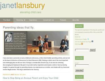 Thumbshot of Janetlansbury.com