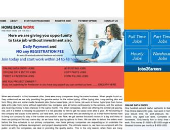 homebasework.net screenshot
