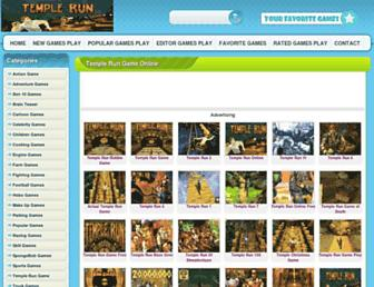 playtemplerun2gameonline.com screenshot