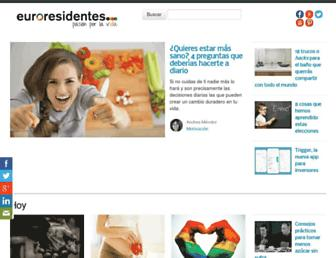 euroresidentes.com screenshot