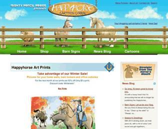 happyhorsecartoons.com screenshot