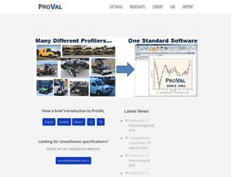 roadprofile.com screenshot