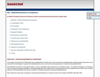 nac.nasscom.in screenshot