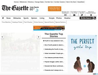 thegazette.com screenshot