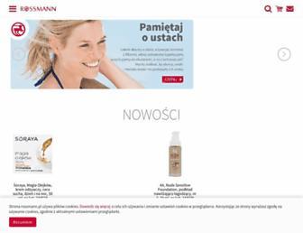 Fullscreen thumbnail of rossmann.com.pl