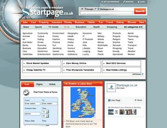 Thumbshot of Startpage.co.uk