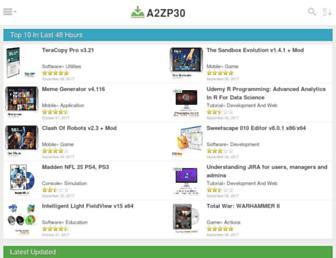 a2zp30.com screenshot