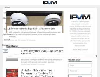 ipvm.com screenshot