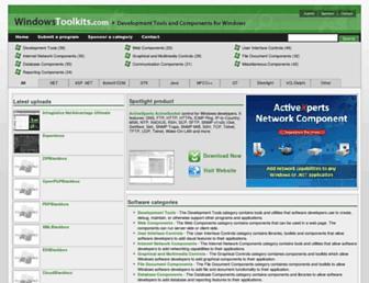 windowstoolkits.com screenshot