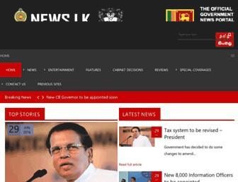 Thumbshot of News.lk
