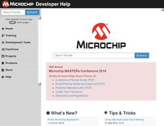 microchip.wikidot.com screenshot